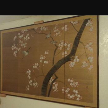 Japanese byobu  - Asian