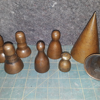 "more antique 'pipe organ brass' tools -- ""toe cones"" - Musical Instruments"