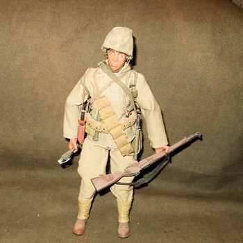 Ultimate Soldier U.S.M.C. Jungle Fighter WWII Circa Late 1990s - Military and Wartime