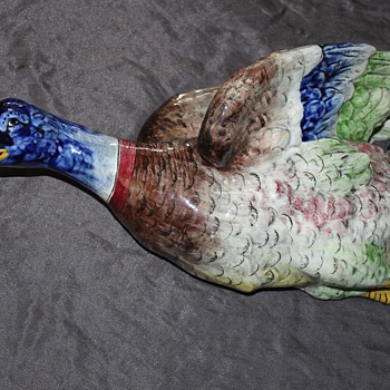 My new duck and his flock - Pottery