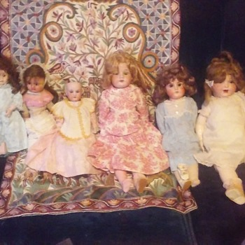 Antique And Vintage Doll Collection - Dolls