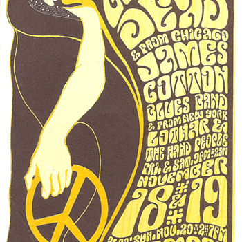 Homages to Wes Wilson - Posters and Prints