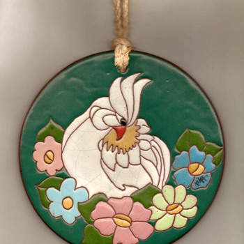 Hand-painted Terracotta Wall Art - Pottery
