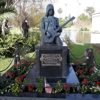 Hollywood Forever Cemetary The Graves of the Stars - Photographs