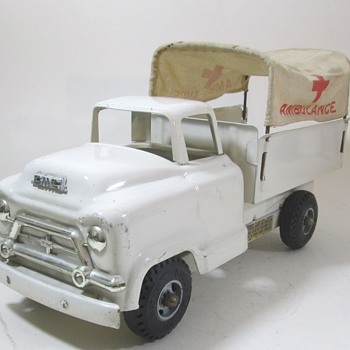 Buddy L GMC Amulance Truck - Model Cars