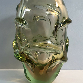 Skrdlovice 5503 Jan Kotik vase - Art Glass