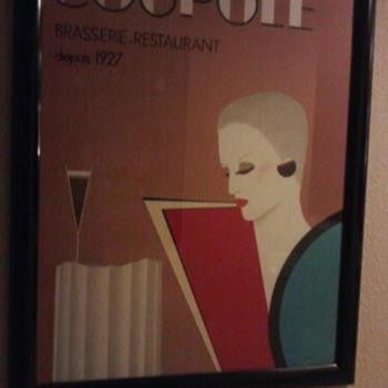 La Coupole Litho - Posters and Prints