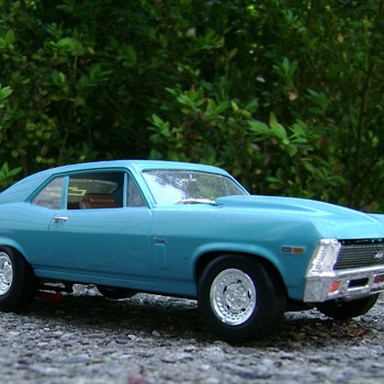 1969 Chevy Nova Super Sport - Model Cars