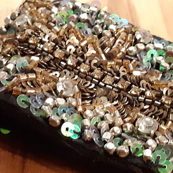 Vintage embroidery fashin Bracelet  - Costume Jewelry