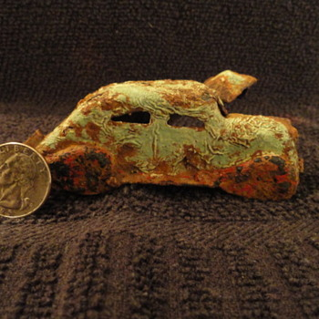 5/15/2017 Metal Detector Find ??? - Model Cars