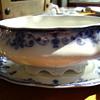 FLO BLUE DINNERWARE SET-JOHNSON BROTHERS UK, EARLY 1900's