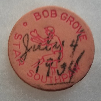 1930s Lefty Grove candy? - Baseball
