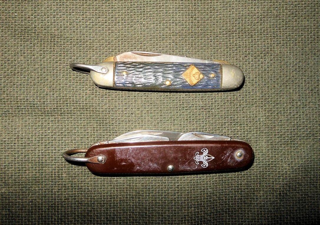 Vintage Cub Scout and Boy Scout Pocket Knives   Collectors