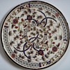 Zsolnay Pecs Trivet, Gold traced Oriental Design,.....date?