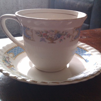 Johnson Bros Cup & Saucer - China and Dinnerware