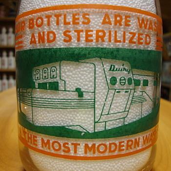 Miller Dairy..Cambridge City Indiana 2 Color Creamtop....... - Bottles