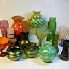 "Bohemian Art Glass Grouping""Wilhelm Kralik Sohn""Circa 1900-1930"