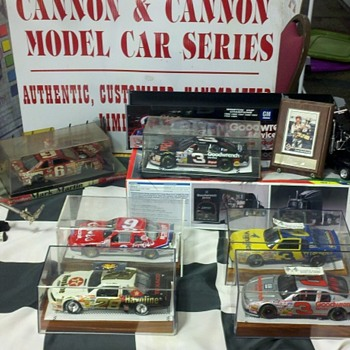A showcase of my setup at a Collector's Show in Hickory,NC - Model Cars