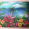 "W. James / Florida Landscape / Oil on Canvas 18""x 14"" Framed / Circa 19??"