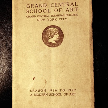 Grand Central School of Art - Brochure/Catalog - 1927 - Paper