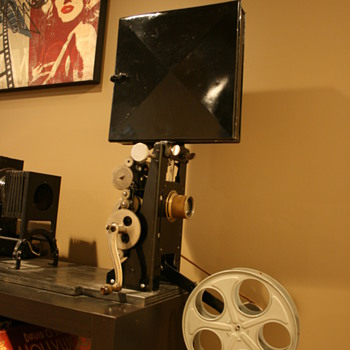 1898 Edison Projecting Kinetascope - Cameras