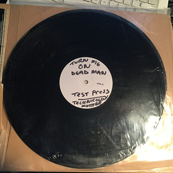'Technicolor Mother' by Turn Me On Dead Man test press LP
