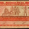 Haiti - (5) Gourdes Bank Note