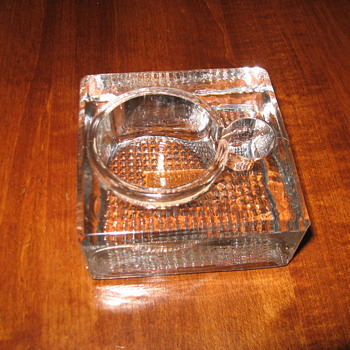 Is this an inkwell? - Glassware