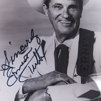 Autographed Country Music Photos - Ernest  Tubb & The Troubadours - Photographs