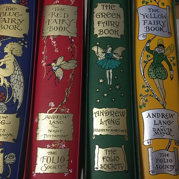Andrew Lang folio Society Fairy Books - Books