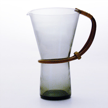 Jug probably designed by Heinrich Loffelhardt,1950s. - Art Glass