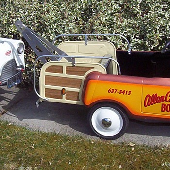 "1958 Thistle ""Wrecker"" Restoration/tribute. - Model Cars"