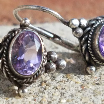 Sterling and Amethyst  - Fine Jewelry