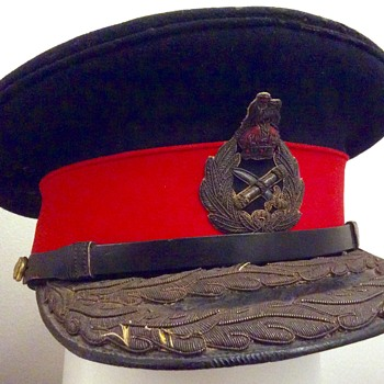 World War Two British General Officer's viser cap - Military and Wartime