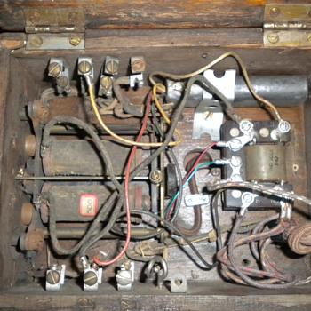 Antique Auto Electric Phone - Telephones