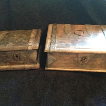 18th Century Shop-keeppers cash boxes