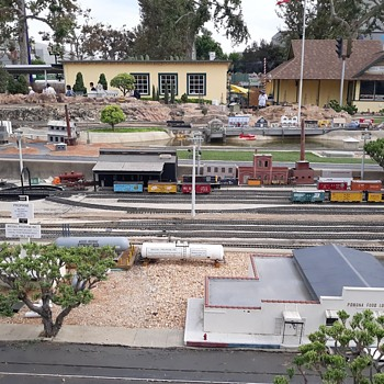 The Garden Railway at the Fairplex in Pomona LA County Fair - Model Trains