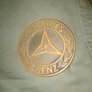 vintage Mercedes Benz Belt Buckle...