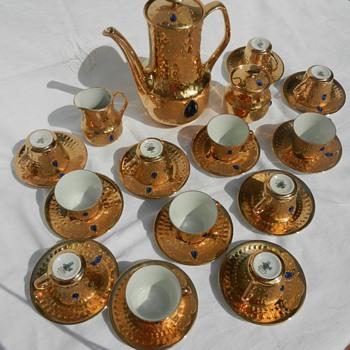 My luxury Italian coffee set - China and Dinnerware