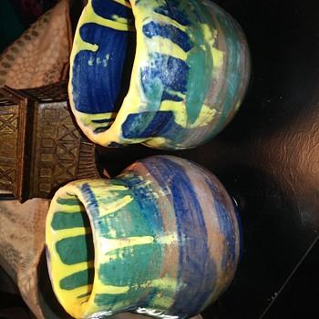 Drip Glazed Pottery - Pottery