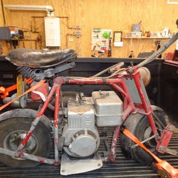 Unusual Unknown Minibike.  - Motorcycles