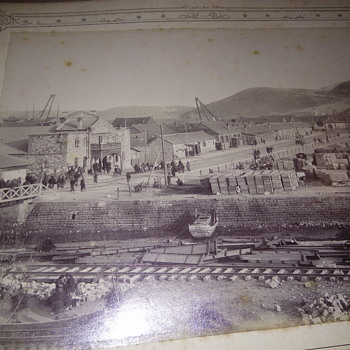 1900 year album with a4 format pictures. Total 48 photos. The photographs were taken by a Russian officer when, in 1900, the Ru