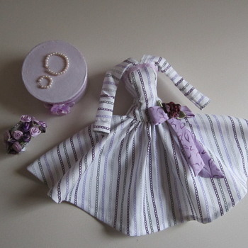 Handmade Vintage Barbie Silkstone Fashion by Kim - Dolls