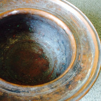 Copper Pot Spittoon?? - Arts and Crafts
