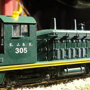 EJ&E #305 SW7 HO scale - Model Trains
