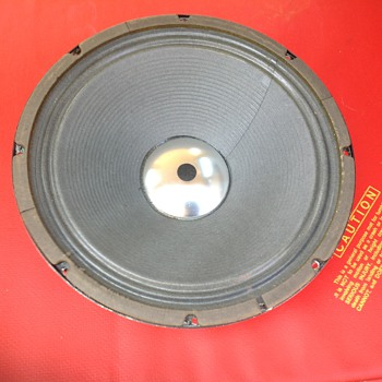 speaker driver 12 inch square back silver dust cap  - Electronics