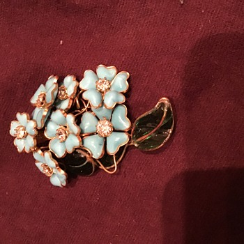 France Brooch - Costume Jewelry