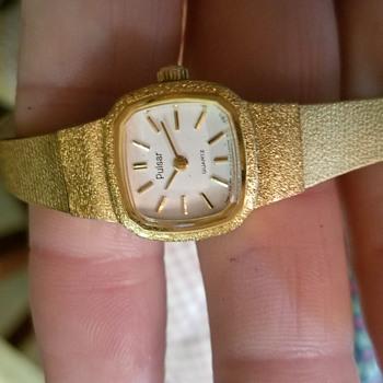 Pulsar by Seiko vintage ladies wrist watch