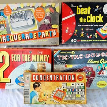 Vintage TV Game Show Games