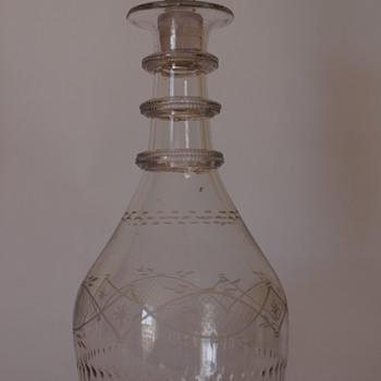 A Cork Glass Co. Irish Decanter - Bottles